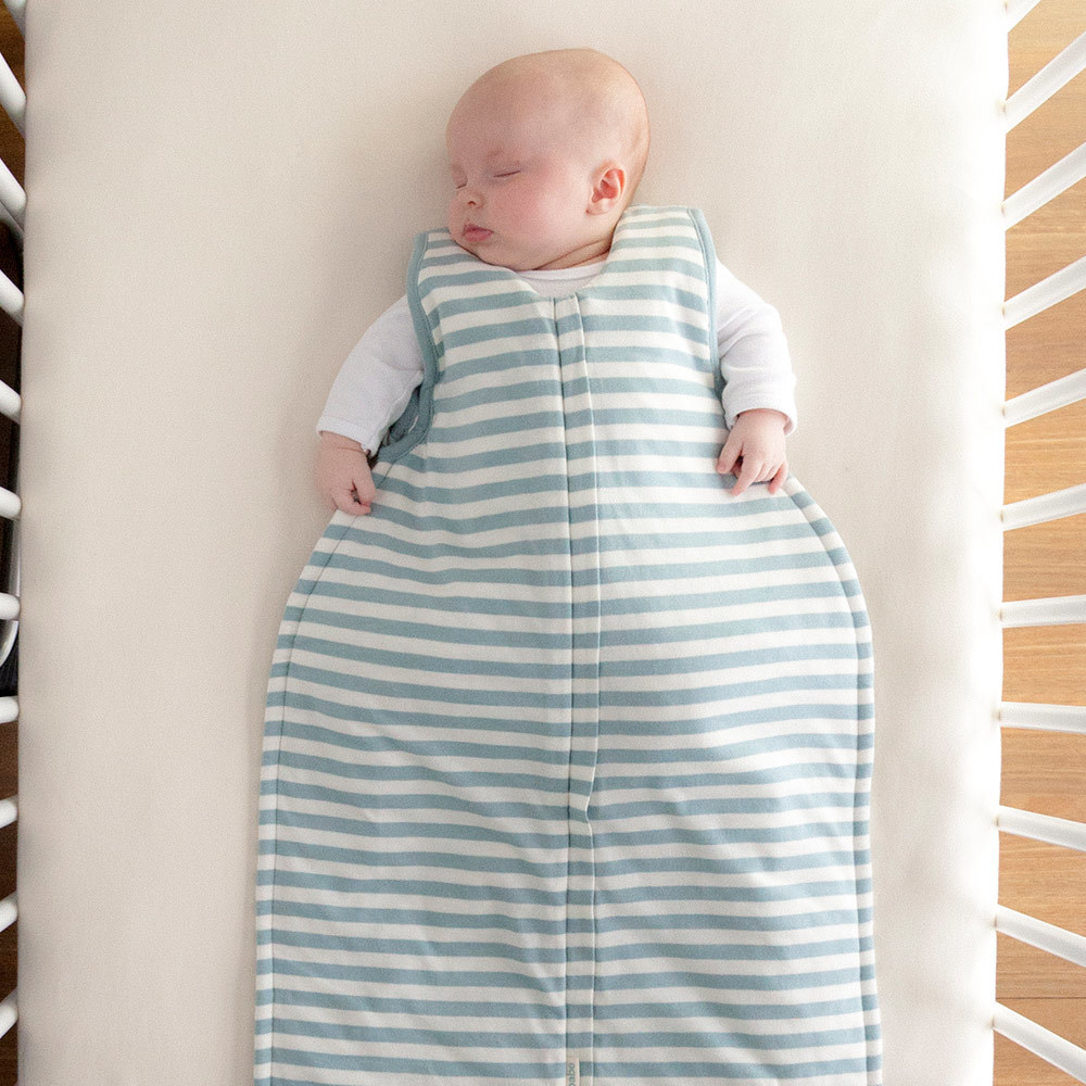 Woolbabe Duvet Zip Front Sleep Bag - Tide (3-24 Months) image