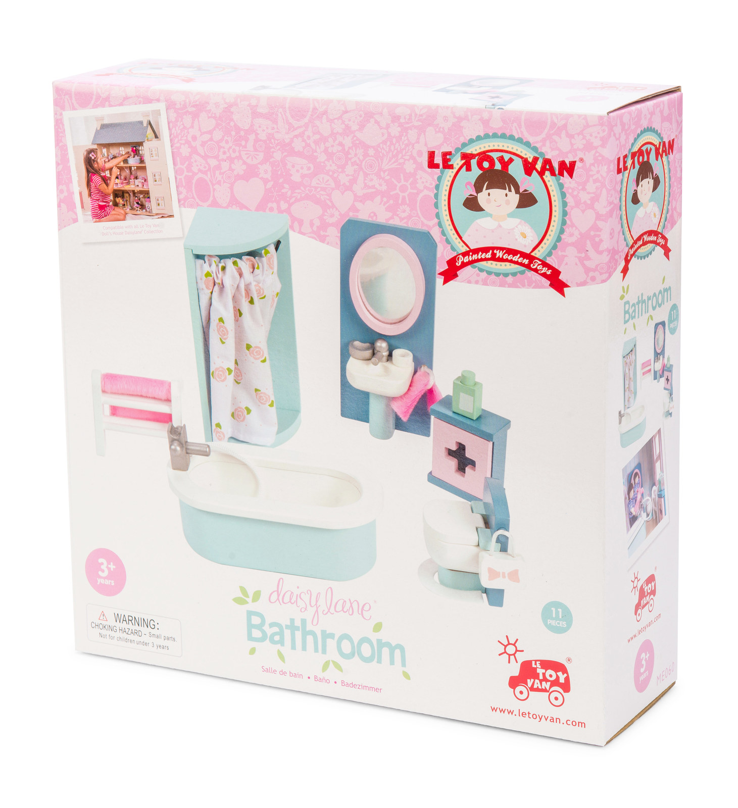 Le Toy Van: Daisy Lane - Bathroom Furniture Set image
