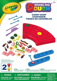 Crayola: Dough Activity Set - Candy Shop