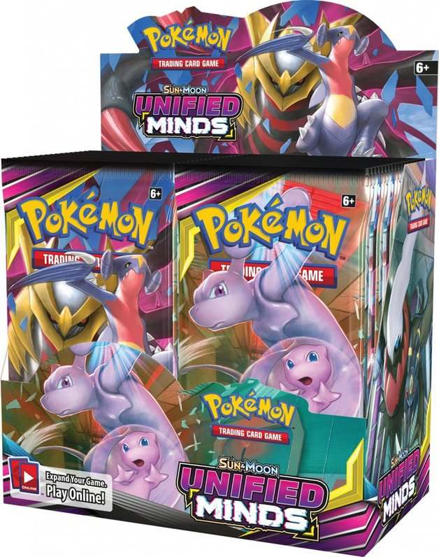 Pokemon TCG: Unified Minds - Booster Box (36 Packs)