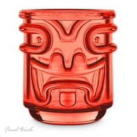 Final Touch: Stackable Tiki Tumblers (Set of 4)