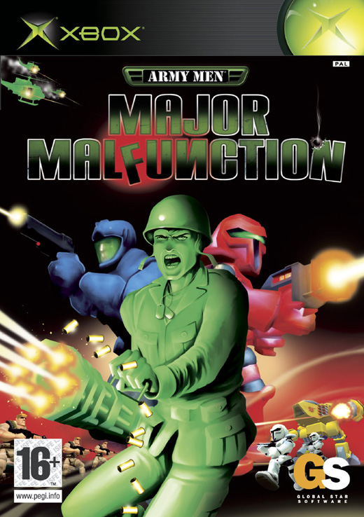 Army Men: Major Malfunction for Xbox image