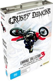 Crusty Demons Carnage Collection (Fuel Tank) Vol 3 (5 Disc Set) on DVD