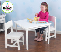 KidKraft - Aspen Table and Chair Set White