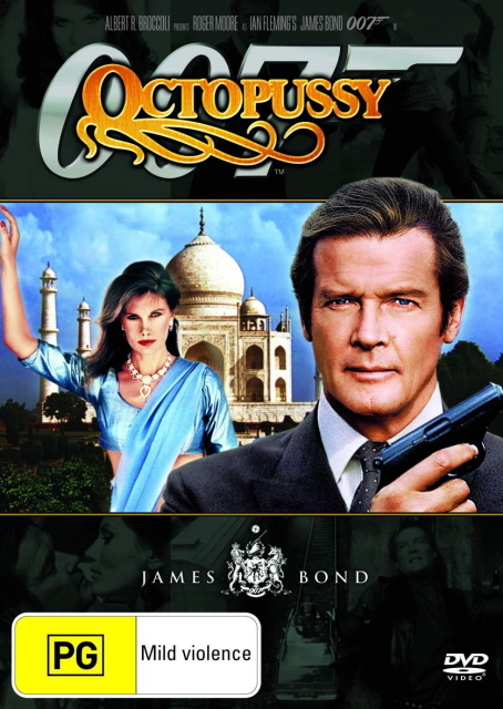 James Bond - Octopussy on DVD