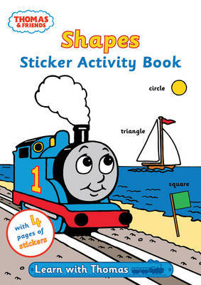 Shapes: Sticker Activity Book