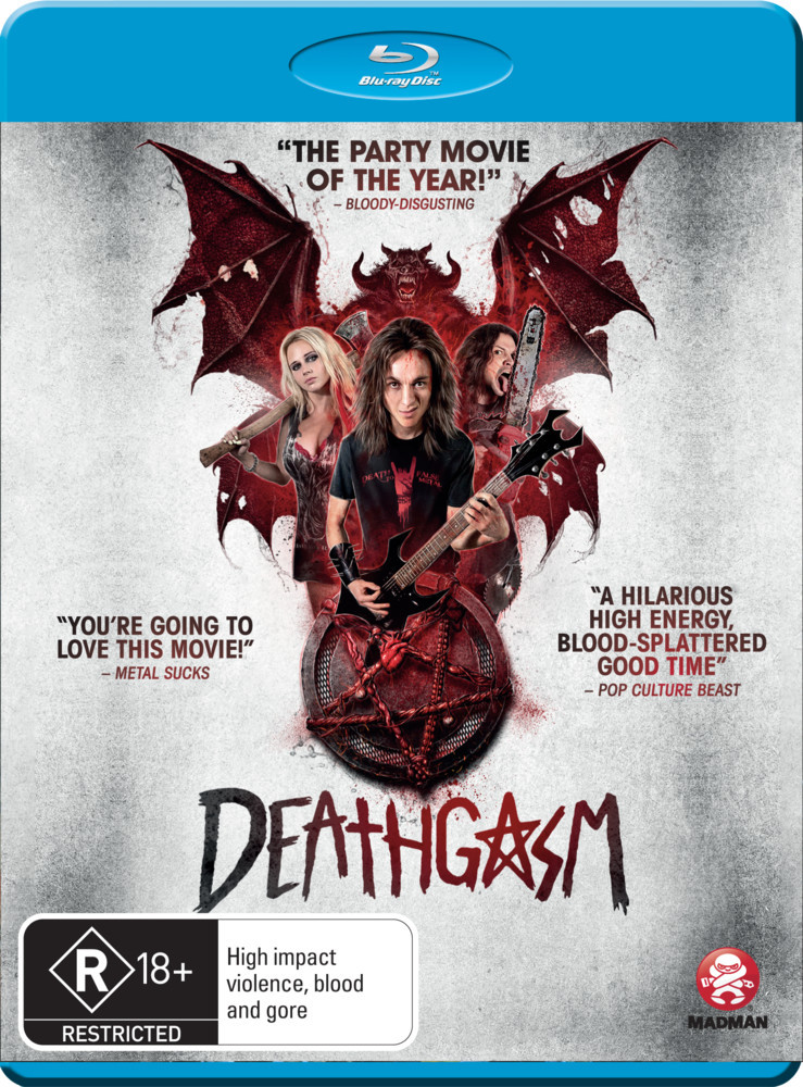 Deathgasm on Blu-ray image
