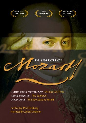 In Search Of Mozart on DVD image