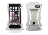 """DiCaPac Waterproof Case for 5.1"""" Smartphones (White)"""