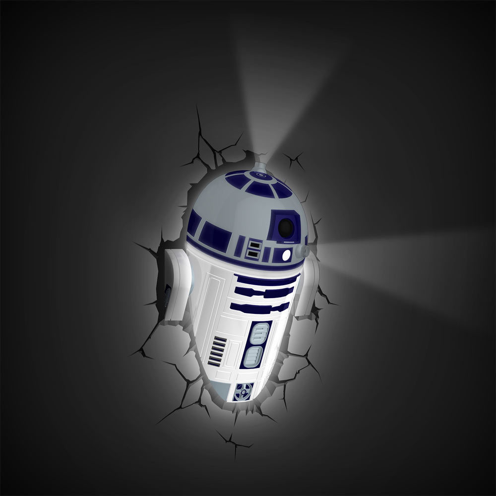 3D Deco Night Light - R2D2 image
