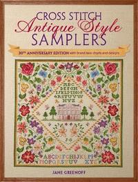 Cross Stitch Antique Style Samplers by Jane Greenoff