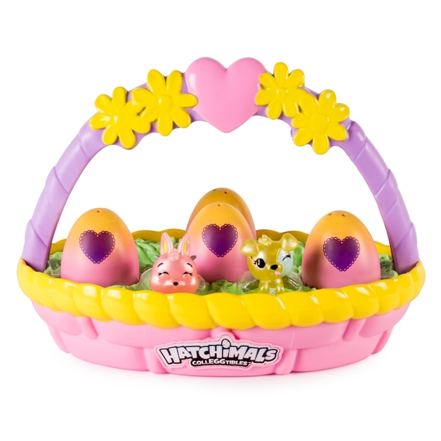 Hatchimals colleggtibles spring basket toy at mighty ape hatchimals colleggtibles spring basket 6 pack negle Images