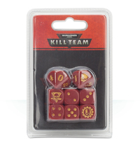 Warhammer 40,000: Kill Team - Adeptus Mechanicus Dice Set image