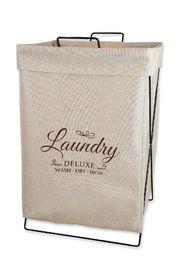Urban Lines: Capri X Frame Laundry Hamper - Natural
