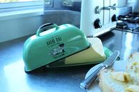 Moana Road: Haere Mai Enamel Butter Dish