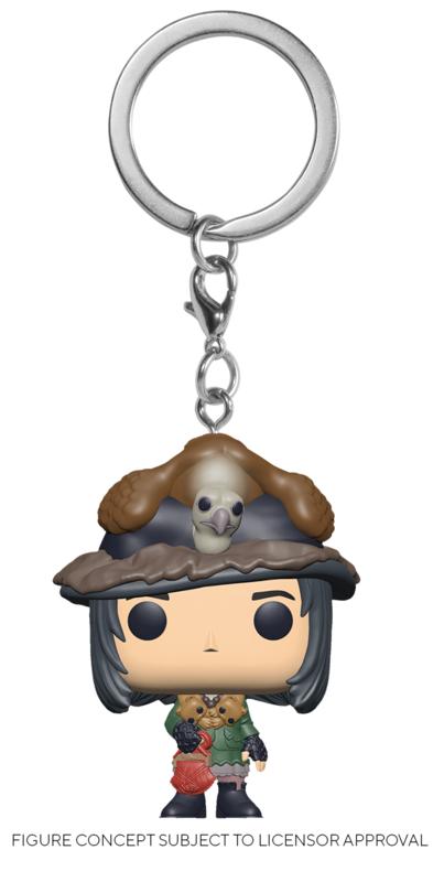 Harry Potter: Snape (Boggart) - Pocket Pop! Keychain