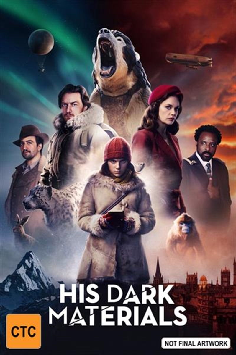 His Dark Materials on DVD image