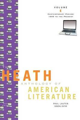The Heath Anthology of American Literature: v. E by Quentin Miller image