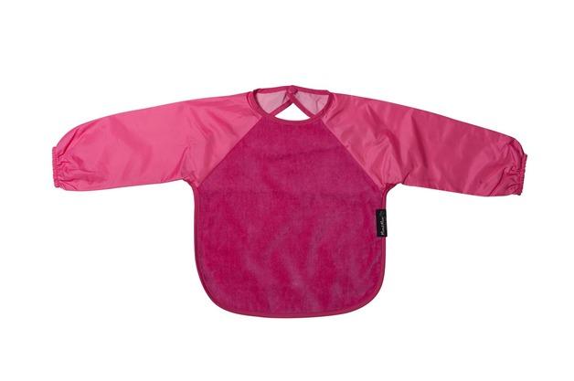 Mum 2 Mum Sleeved Wonder Bib (6-18 Months) - Cerise