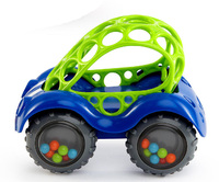 Oball: Rattle and Roll Car - Blue image