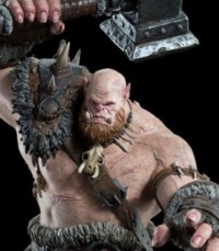 Warcraft Movie - 1:10 Orgrim Scale Figure