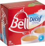 Bell Tea - Original Decaf Tea Bags (50 Bags)