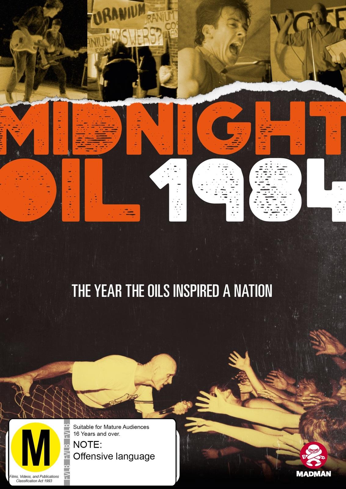 Midnight Oil 1984 image