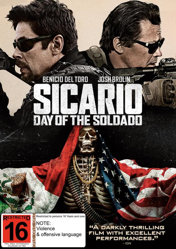Sicario: Day Of The Soldado on DVD