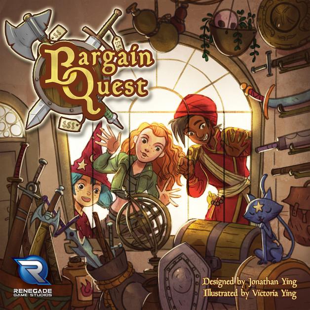 Bargain Quest - Board Game