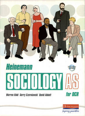 Heinemann Sociology for OCR: AS Student Book by Dave King image