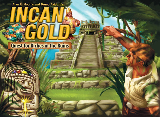 Incan Gold - Board Game