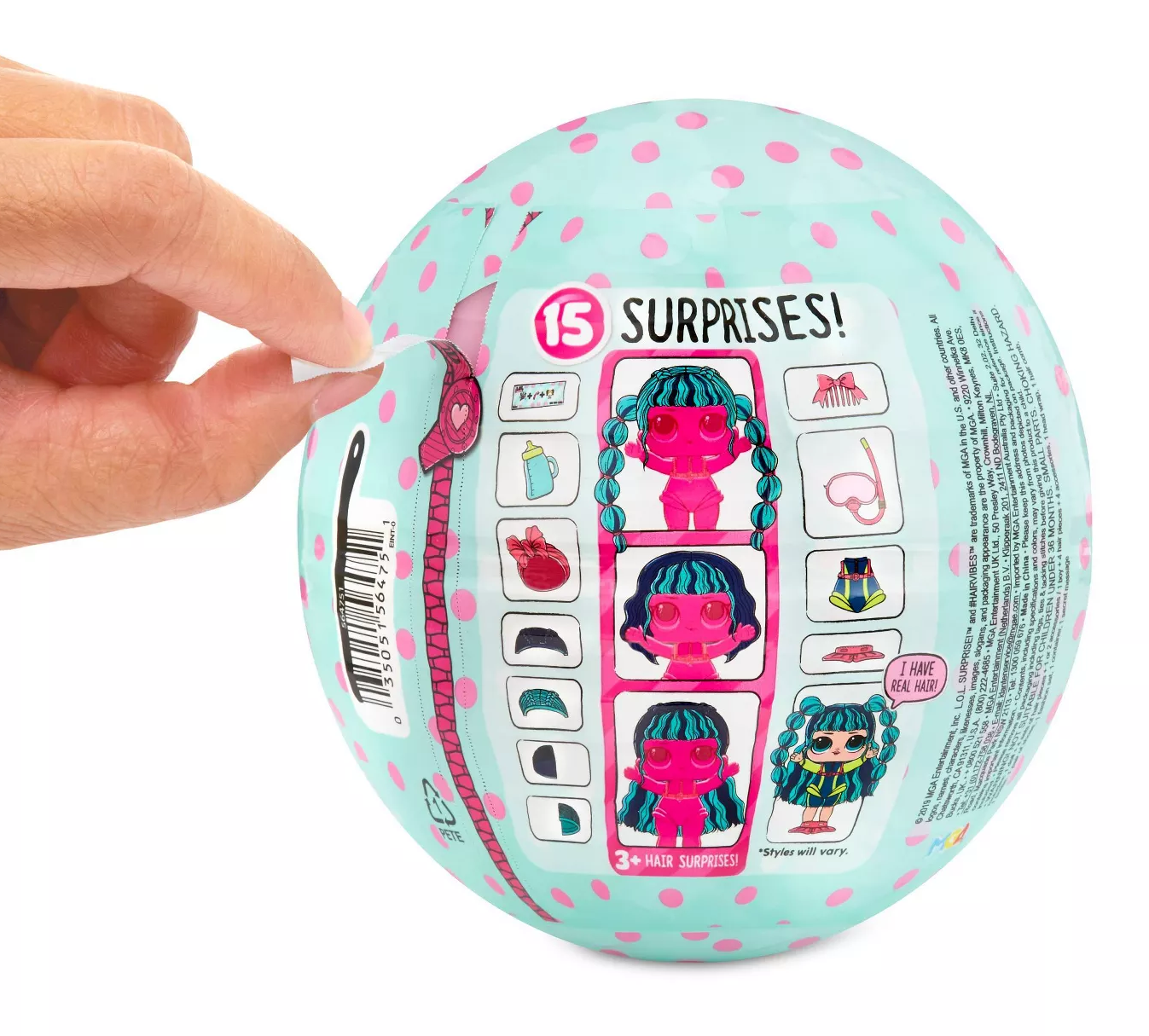 L.O.L: Surprise! - Hairvibes Tots (Blind Box) image
