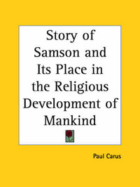 Story of Samson by Paul Carus image