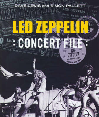 """Led Zeppelin"" Concert File by Dave Lewis image"
