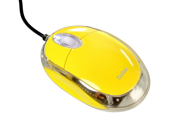 Saitek Notebook Optical Mouse - Yellow image