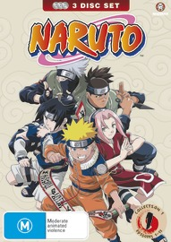 Naruto (Uncut) Collection 01 (Eps 01-13), on DVD