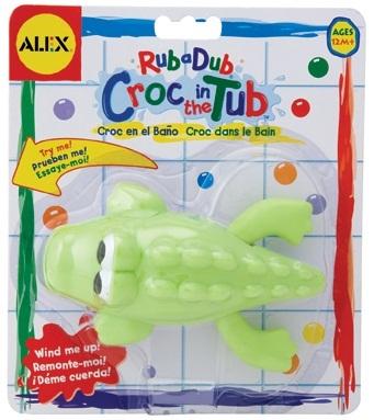 Alex: Croc In The Tub image