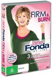 Jane Fonda Prime Time:Firm & Burn Low-Im on DVD