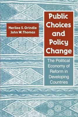 Public Choices and Policy Change by Merilee Serrill Grindle image