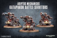 Warhammer 40,000 Adeptus Mechanicus Kataphron Battle Servitors