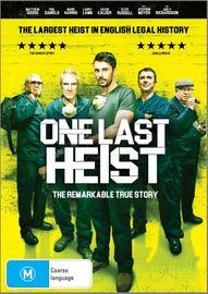 One Last Heist on DVD image