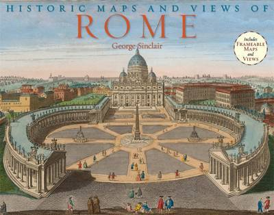 Historic Maps and Views of Rome by George Sinclair image