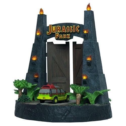 Jurassic Park - Park Gates Sculpture