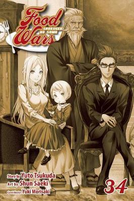 Food Wars!: Shokugeki no Soma, Vol. 34 by Yuto Tsukuda