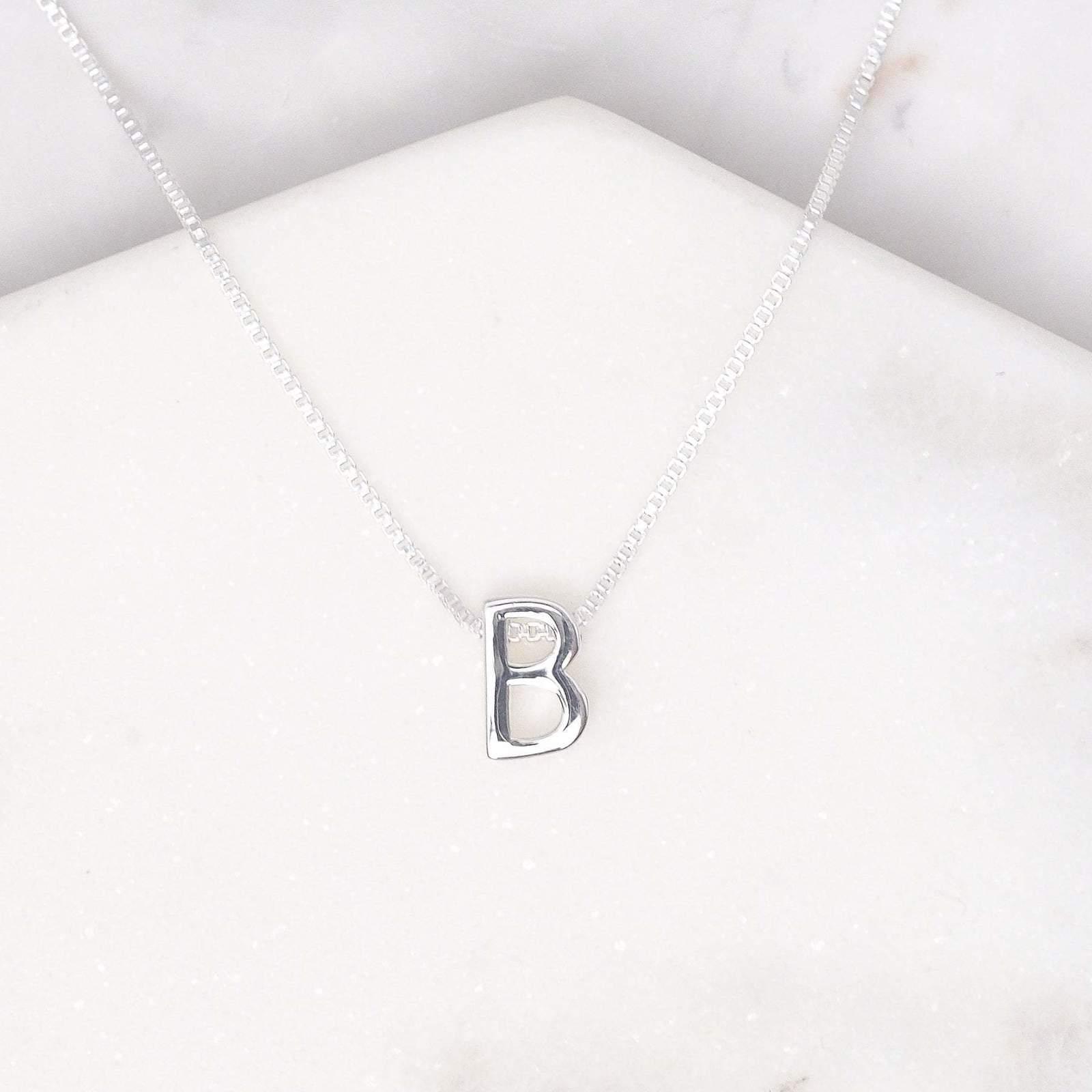 Midsummer Star: Alphabet Necklace - B image