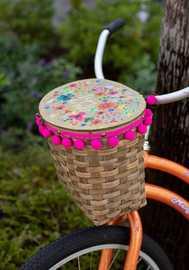 Natural Life: Bike Basket Enjoy The Ride