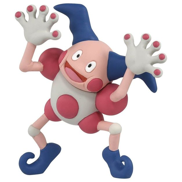 Pokemon: Moncolle: Mr. Mime - PVC Figure