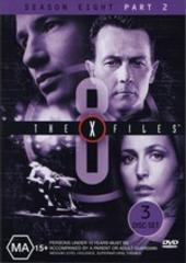 X-Files, The Season 8 Part 2 (3 Disc) on DVD