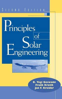 Principles of Solar Engineering by D. Yogi Goswami image