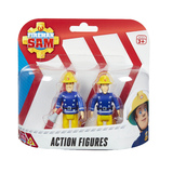 Fireman Sam Figure Pack - Sam With Megaphone & Elvis
